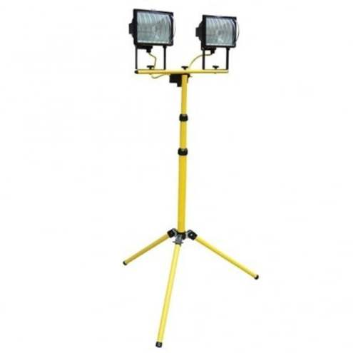 Yellow Tripod and Site Light  