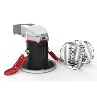 Ansell Orbio 360 240V AC LED Gimbal Downlight